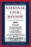 National Civic Review : The State of Politics in America: Issues in Political Reform, NCR (National Civic Review), 0787958190