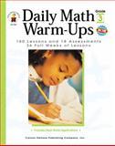 Daily Math Warm-Ups Grade 3, Melissa J Owen, 0887248195