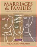 Marriages and Families, Benokraitis, Nijole V., 0205918190