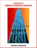 Introduction to Ordinary Differential Equations, Saperstone, Stephen, 0314058192