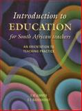 Introduction to Education, Lemmer, E. M. and Badenhorst, D. C., 0702138193