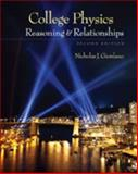 College Physics : Reasoning and Relationships, Giordano, Nicholas, 0840058195