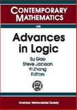 Advances in Logic, Yi Zhang, 0821838199