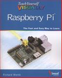 Teach Yourself Visually Raspberry Pi, Wentk, 1118768191