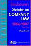 Company Law, 2006-2007, French, Derek, 0199288194