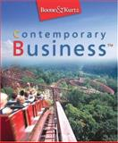 Contemporary Business, Boone, Louis E. and Kurtz, David L., 032418820X