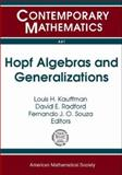 Hopf Algebras and Generalizations : AMS Special Session on Hopf Algebras at the Crossroads of Algebra, Category Theory, and Topology, October 23-24, 2004, Evanston, Illinois, , 0821838202
