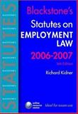 Employment Law 2006-2007, Kidner, Richard, 0199288208