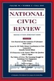 National Civic Review, Fall 2001 Vol. 90,No. 3 : Digital Democracy: Civic Engagement in the Twenty-First Century, NCR Staff and Loper, Robert, 0787958204