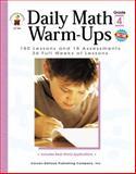 Math Warm-Ups, M. J. Owen, 0887248209