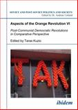 Aspects of the Orange Revolution, Bredies, Ingmar and D'Anieri, Paul J., 3898218201