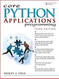 Core Python Applications Programming, Chun, Wesley J., 0132678209