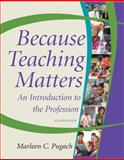 Because Teaching Matters, Pugach, Marleen C., 0470408200