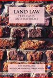 Land Law : Text, Cases, and Materials, McFarlane, Ben and Hopkins, Nicholas, 0199208212
