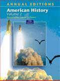 American History Vol. 2, Maddox, Robert James, 0072548215
