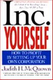 Inc. Yourself, Judith H. McQuown, 088730821X