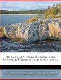Opera, Quae Supersunt, Omnia, Marcus Tullius Cicero, 1274458218