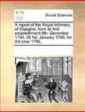 A Report of the Royal Infirmary of Glasgow, from Its First Establishment 8th December 1794, till 1st January 1796, for the Year 1795, See Notes Multiple Contributors, 1170188214