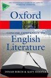 The Concise Oxford Companion to English Literature, Dinah Birch, 0199608210