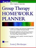 Group Therapy Homework Planner, Bevilacqua, Louis J., 0471418226