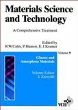 Glasses and Amorphous Materials, Cahn, Robert W., 3527268227