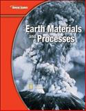 Earth Science, Earth Materials and Processes, Glencoe McGraw-Hill Staff, 0078778220