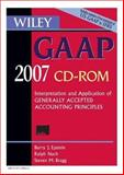 Wiley GAAP 2007, CD ROM : Interpretation and Application of Generally Accepted Accounting Principles, Epstein, Barry J. and Bragg, Steven M., 0471798223