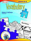 Vocabulary, Grade K-3, McEwan, Elaine K. and Bresnahan, Val, 1412958229