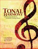 PKG Tonal Harmony with Workbook, Kostka, Stefan and Payne, Dorothy, 007765823X