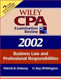 CPA Examination Review 2002 : Business Law and Professional Responsibilities, Delaney, James, 0471438235