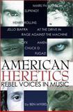 American Heretics, Ben Myers, 1899598235