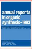 Annual Reports in Organic Synthesis 1993, , 0120408236