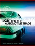 Math for the Automotive Trade, Peterson, John C. and deKryger, William, 1111318239