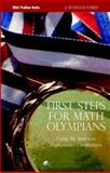 First Steps for Math Olympians, J. Douglas Faires, 088385824X