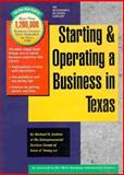 Starting and Operating a Business in Texas, Michael D. Jenkins and Ernst and Young Staff, 0916378241