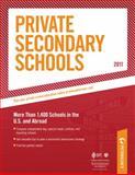 Private Secondary Schools, Peterson's, 0768928249
