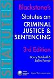 Criminal Justice and Sentencing, Mitchell, Barry and Farrar, Salim, 0199288240