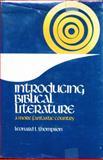 Introducing Biblical Literature, Leonard L. Thompson, 0134988248