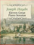 Eleven Great Piano Sonatas, Joseph Haydn, 0486438244