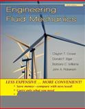 Engineering Fluid Mechanics, 9E Binder Ready, Crowe, 0470418249