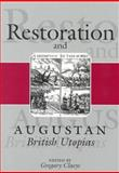 Restoration and Augustan British Utopias, Claeys, Gregory, 0815628242