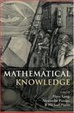 Mathematical Knowledge, , 0199228248