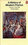 History of Modern France, Alfred Cobban, 0140138250