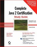 Complete Java 2 Certification Study Guide with CD-ROM, Roberts, Simon and Ernest, Michael, 0782128254