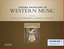 The Oxford Anthology of Western Music