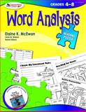 Word Analysis,Grades 4-8, McEwan, Elaine K. and Nielsen, Linda M., 1412958253