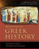 Readings in Greek History : Sources and Interpretations, , 0195178254