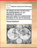 An Essay on the Construction of Sleying-Tables, Robert Barbour, 1140868268
