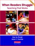 When Readers Struggle : Teaching That Works, Pinnell, Gay Su and Fountas, Irene C., 032501826X