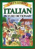 Let's Learn Italian Picture Dictionary, Goodman, Marlene, 0071408266